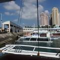 マクタン島の船着き場