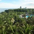 オランゴ島のホテルにて