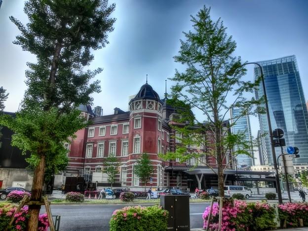 写真: 東京駅丸の内駅舎