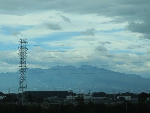 北陸新幹線の車窓