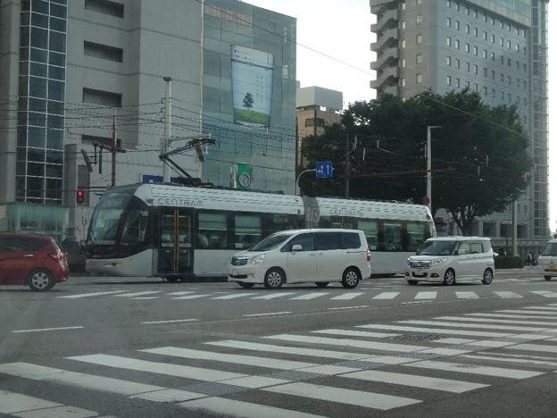富山市の路面電車