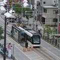 写真: 富山市内にて