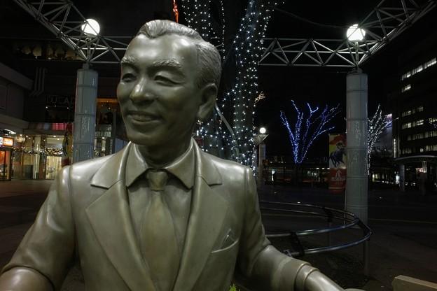 Photos: 福島駅前の古関裕而像