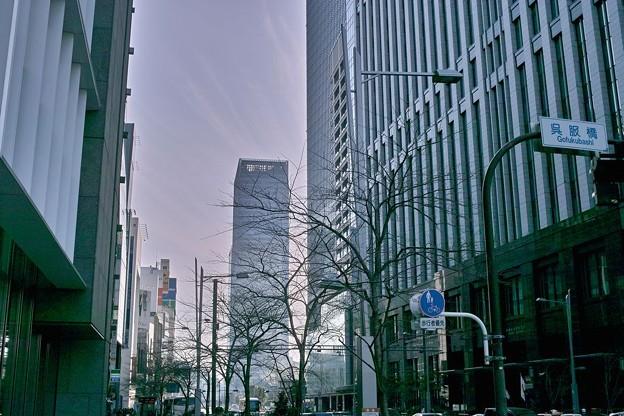 東京にて 遠くが霞んで見える