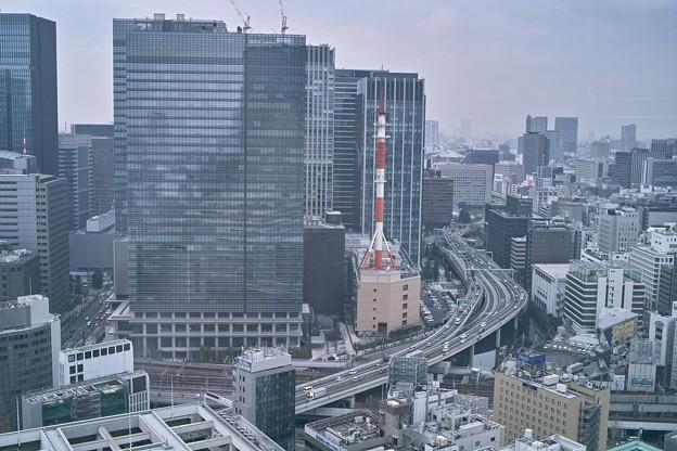 東京都心のビル街