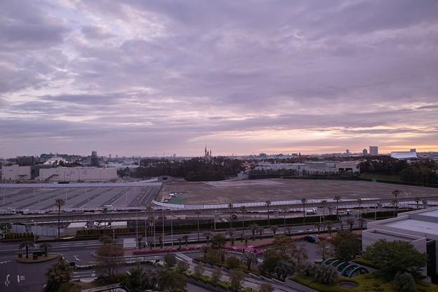 シンデレラ城の朝