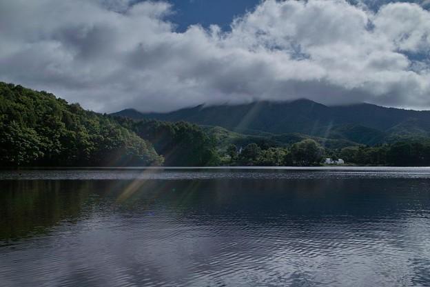 曽原湖の朝