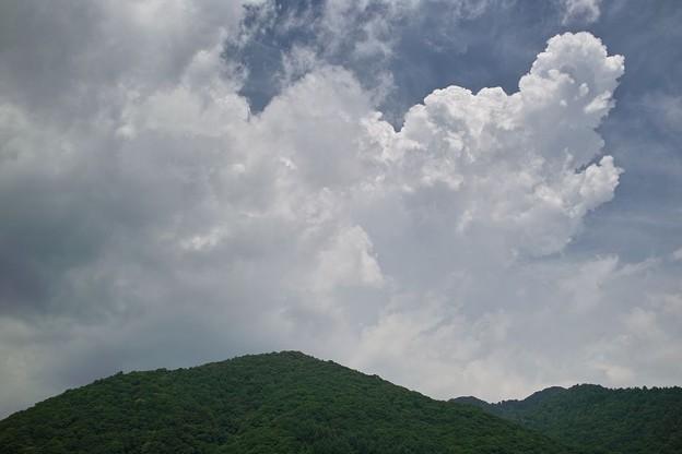 入道雲発生