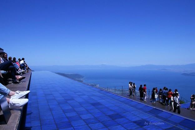 写真: 琵琶湖テラス