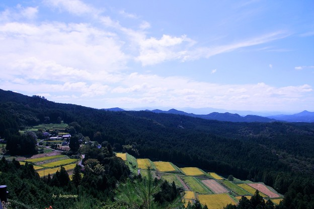 Photos: 峠から