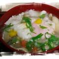 Photos: とん汁 お餅入り(*^^)v