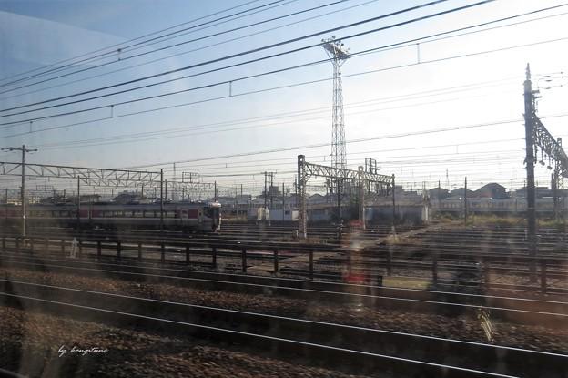JR大阪駅から金沢へ(サンダーバード車内から)