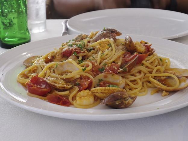 2019/09/07 バリ島サヌールMassimo Italian Restaurant にて