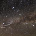 写真: はくちょう座周辺の星雲星団