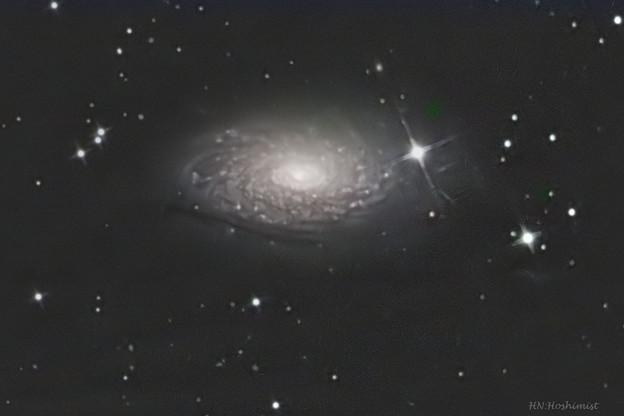 写真: M63 ひまわり銀河 20180213