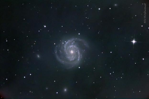 M100かみのけ座の渦巻銀河