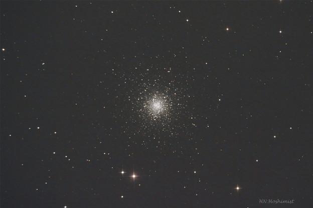 M53かみのけ座の球状星団