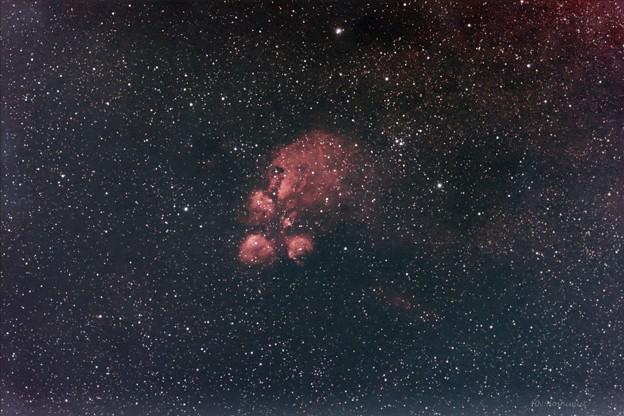 NGC6334 出目金星雲
