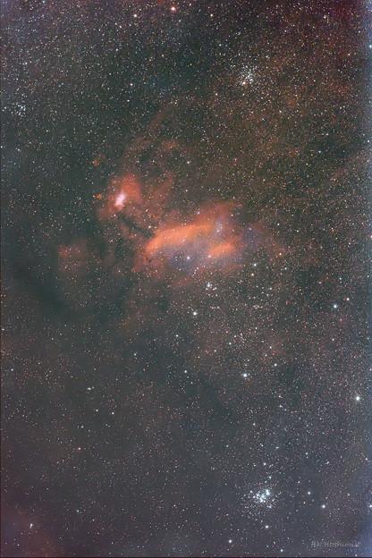 IC4628エビ星雲