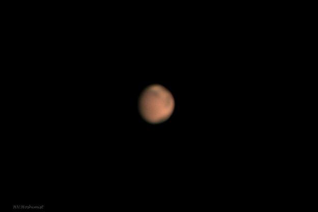 2018.06/13 02:22の火星