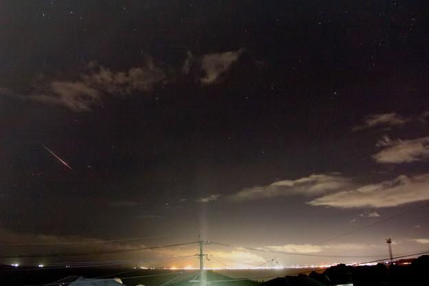 ペルセウス座流星群20180813-0102