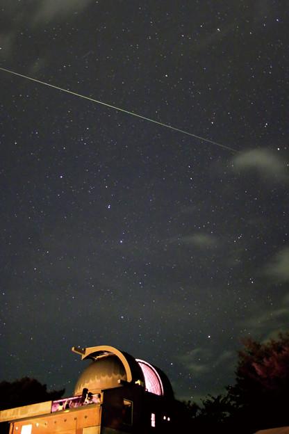 南阿蘇ルナ天文台と流星