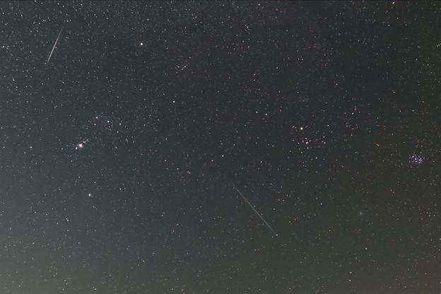 ふたご座流星群とウィルタネンとプレアデスとヒアデス