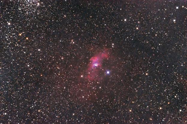 バブル星雲NGC7635