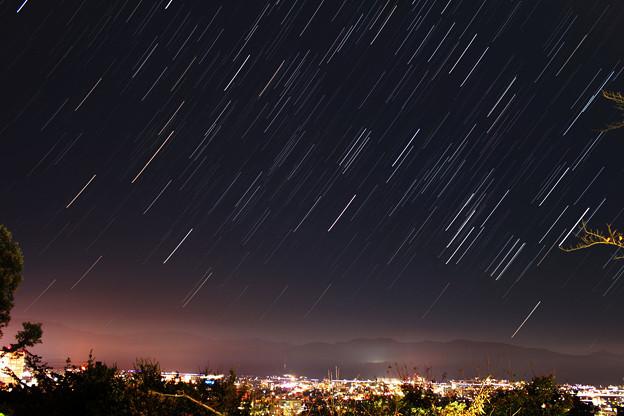 足羽山公園から福井市夜景