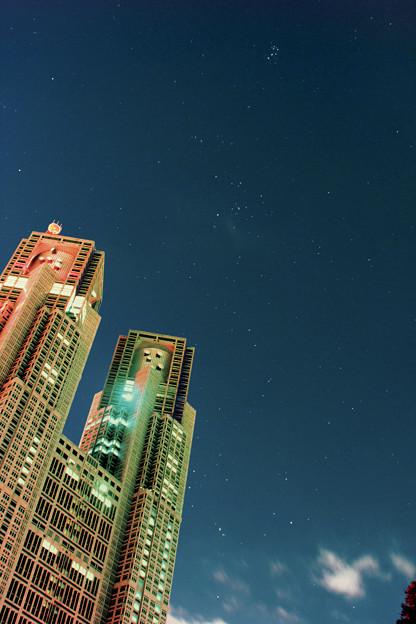 東京の星空2013.11/08
