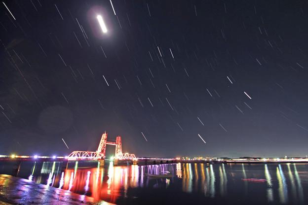 昇開橋の星空