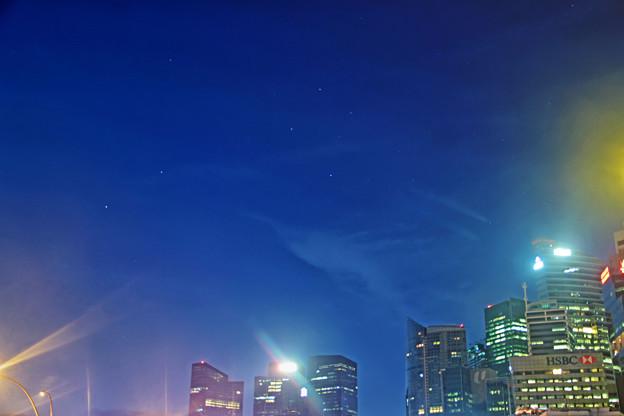 Photos: シンガポールの南十字星