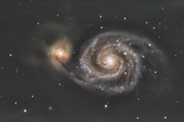 Photos: M51子持ち銀河