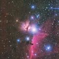 馬頭星雲と燃える木星雲