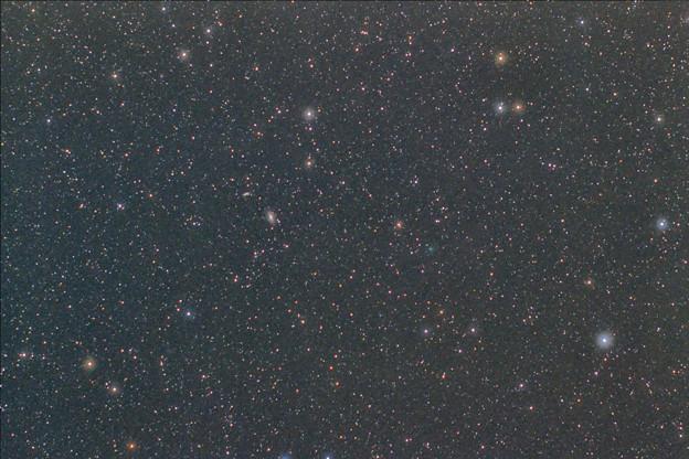 M81M82とC/2019 Y4アトラス彗星
