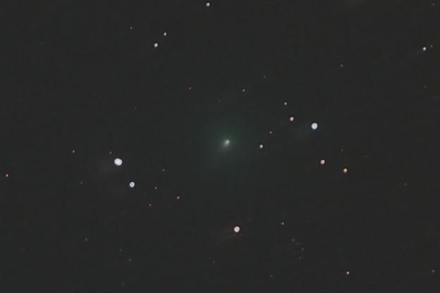 アトラス彗星の尾