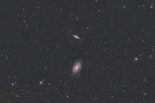 Photos: M81とM82