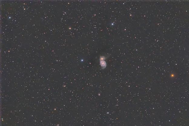 M51 子持ち銀河 20200320