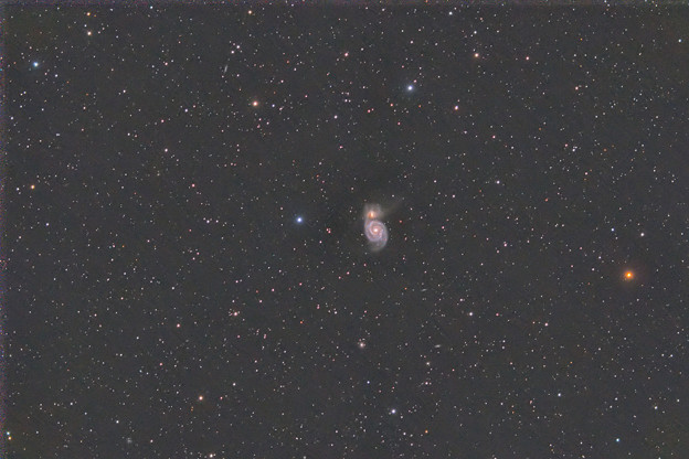 Photos: M51 子持ち銀河 20200320