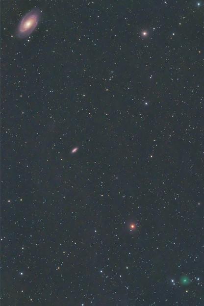 Photos: M81とアトラス2020.03/18