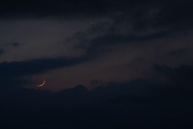 Photos: 月と水星