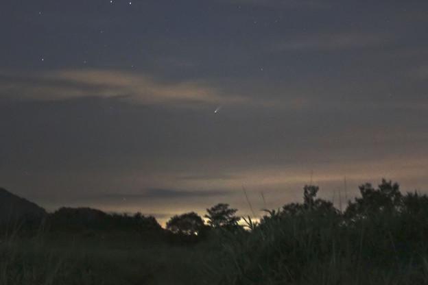 塚原高原のネオワイズ彗星48mm相当