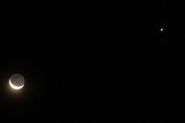Photos: 月と金星