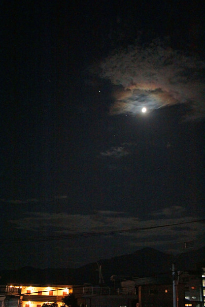 20200828月と木星と土星