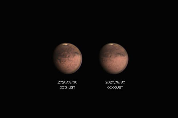 Photos: 2020-08-30未明_JSTの火星