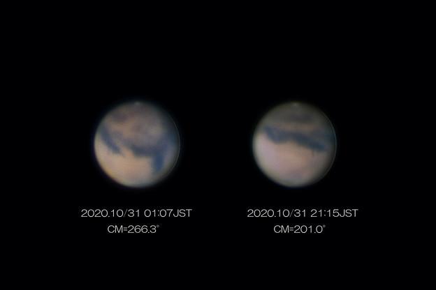 20201031の火星