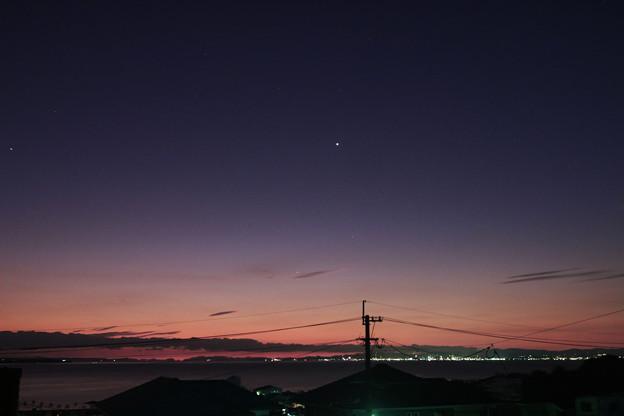 20201110早朝 水星と金星