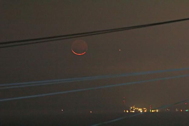 月と水星 2020.11/14 5時29分