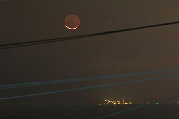 月と水星 2020.11/14 5時33分