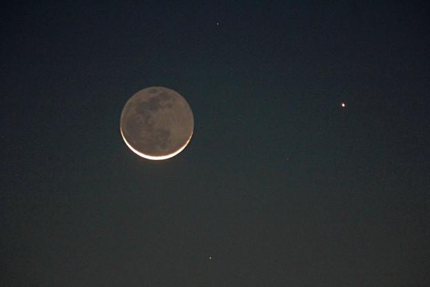 月と水星 2020.11/14 5時58分